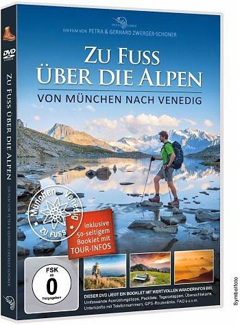 DVD »Zu Fuss über die Alpen - Am Traumpfad von...«