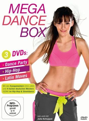 DVD »Mega Dance Box - Dance Party, Hip-Hop, Latin...«