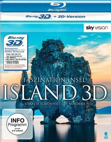 Blu-ray »Faszination Insel: Island (Blu-ray 3D)«