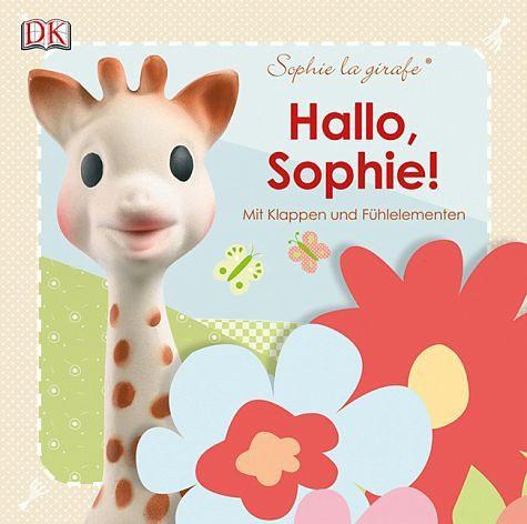 Buch mit Papp-Einband »Hallo, Sophie! Sophie la girafe«