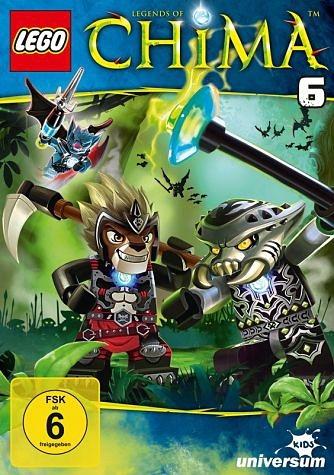 DVD »Lego: Legends of Chima - DVD 6«