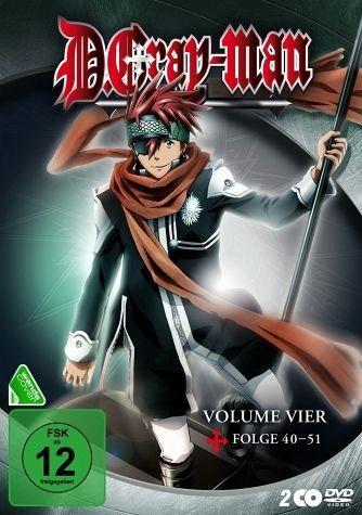 DVD »D. Gray-Man - Volume 4 (2 Discs)«