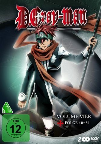 DVD »D. Gray-Man - Volume 4 (2 Discs)«