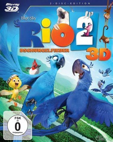 Blu-ray »Rio 2 - Dschungelfieber (Blu-ray 3D)«