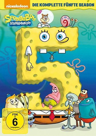 DVD »SpongeBob Schwammkopf - Die komplette fünfte...«