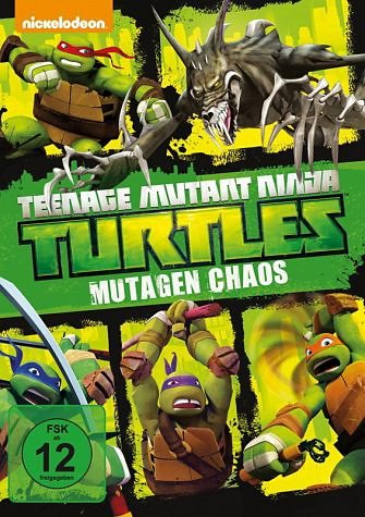 DVD »Teenage Mutant Ninja Turtles - Mutagen Chaos«