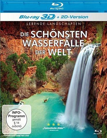 Blu-ray »Die schönsten Wassefälle der Welt (Blu-ray 3D)«