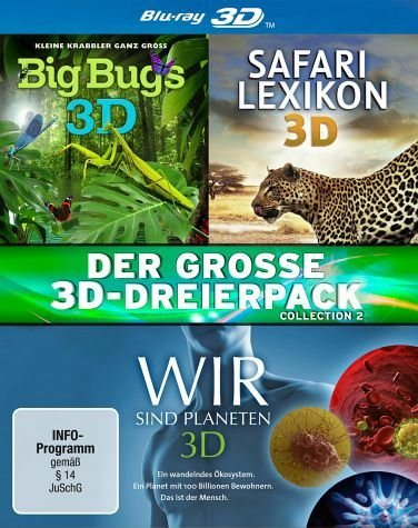 Blu-ray »Der große 3D-Dreierpack - Collection 2...«