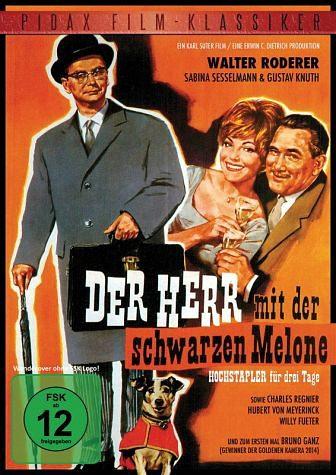 DVD »Der Herr mit der schwarzen Melone«