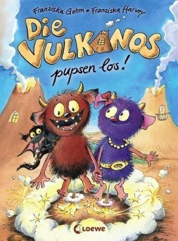 Gebundenes Buch »Die Vulkanos pupsen los! / Vulkanos Bd.1«