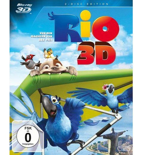 Blu-ray »Rio (Blu-ray 3D, + Blu-ray 2D)«