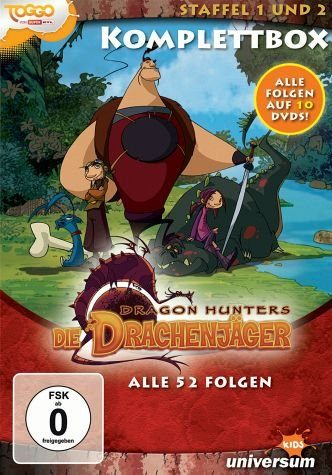 DVD »Dragon Hunters - Die Drachenjäger, Komplettbox...«