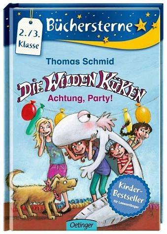 Gebundenes Buch »Achtung, Party! / Die Wilden Küken....«