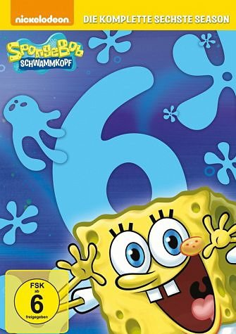 DVD »SpongeBob Schwammkopf - Die komplette sechste...«