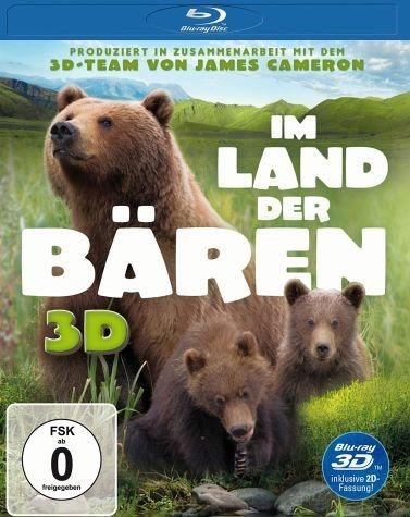 Blu-ray »Im Land der Bären (Blu-ray 3D)«