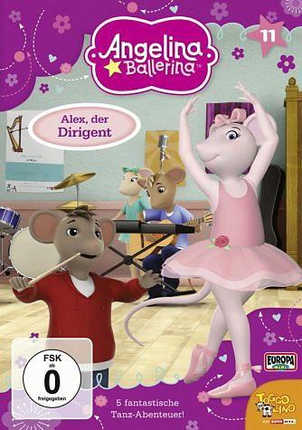 DVD »Angelina Ballerina - Alex, der Dirigent«