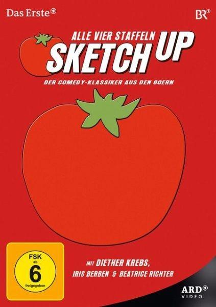 DVD »Sketch Up - Alle vier Staffeln (4 Discs)«