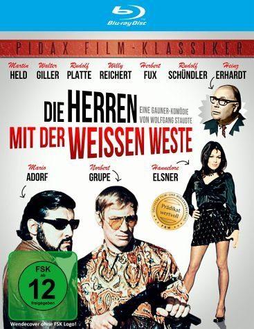 Blu-ray »Die Herren mit der weissen Weste Pidax-Klassiker«