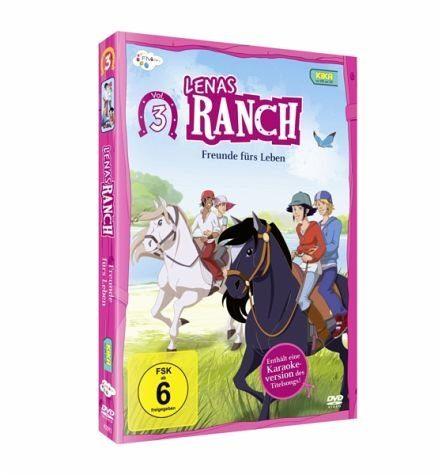 DVD »Lenas Ranch, Vol. 3 - Freunde fürs Leben«