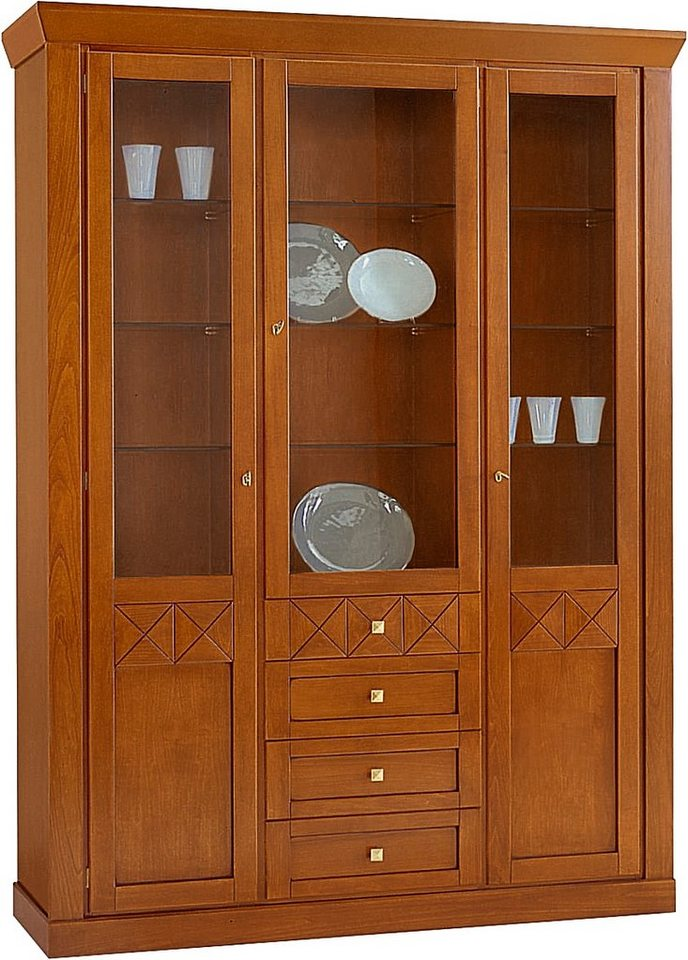 selva vitrine giotto modell e7184 3 t rig breite 149. Black Bedroom Furniture Sets. Home Design Ideas