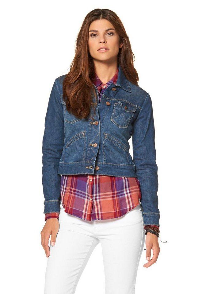 Wrangler Jeansjacke in jeans-blau