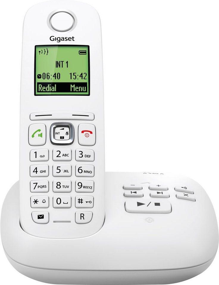 Gigaset A540 A Schnurloses DECT Telefon mit AB in weiß