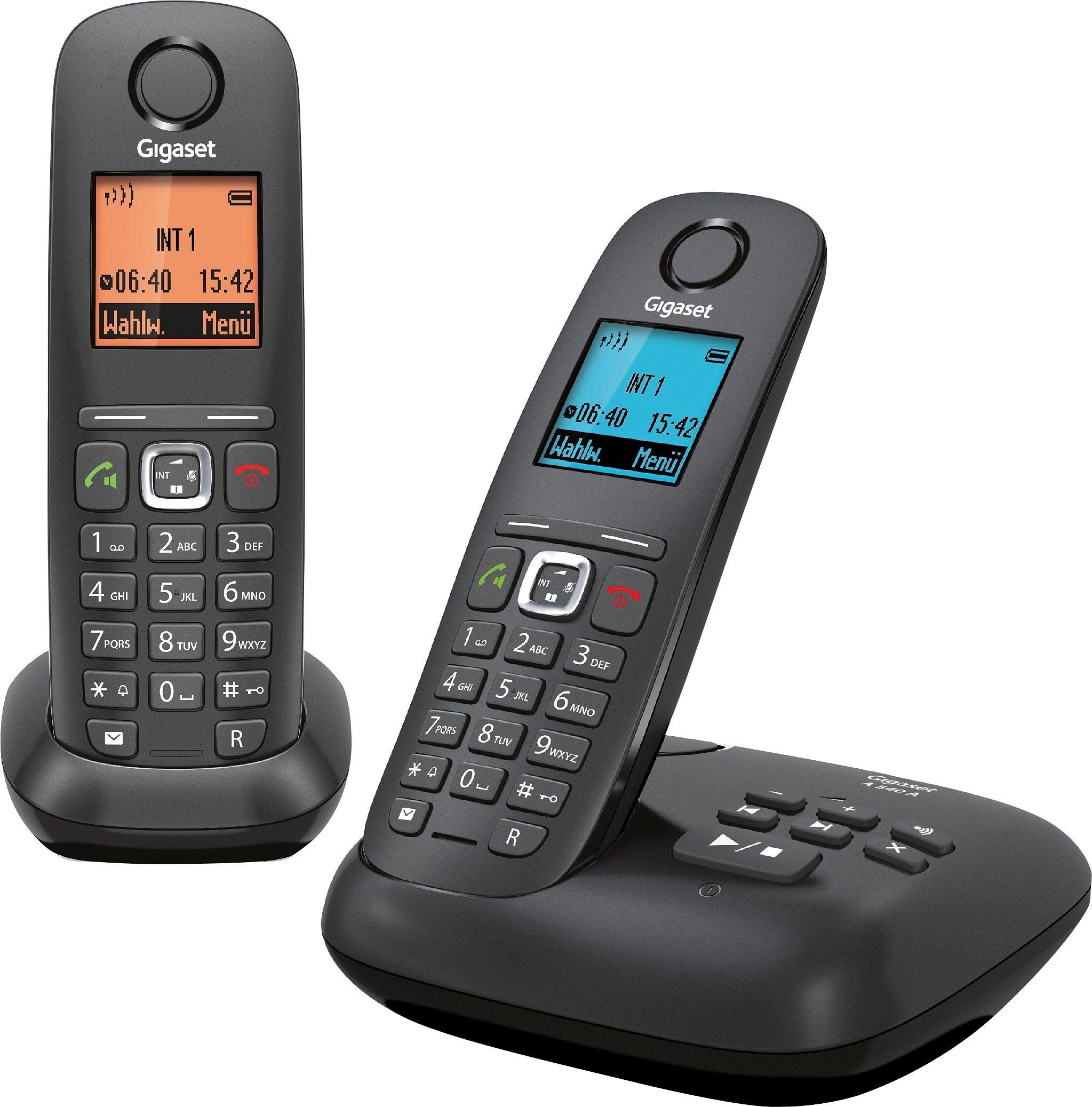 Gigaset A540 A DUO Schnurloses DECT Telefon-Set mit AB