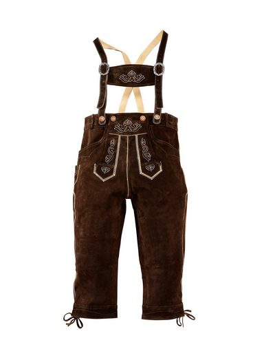 Lederhose, traditionelle Stickerei, Country Line