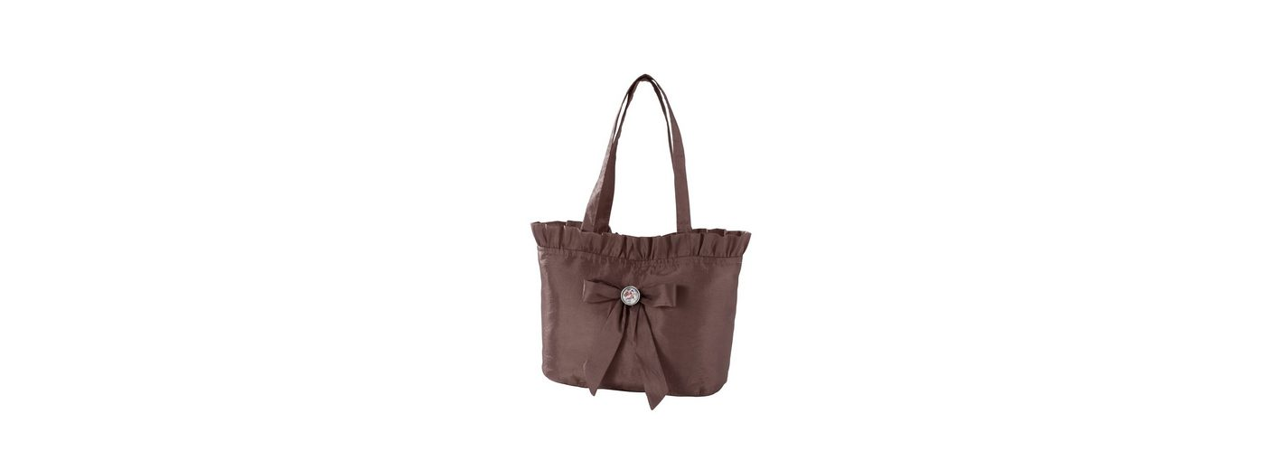 Trachtentasche, mit Rüschen und Masche, Hannah