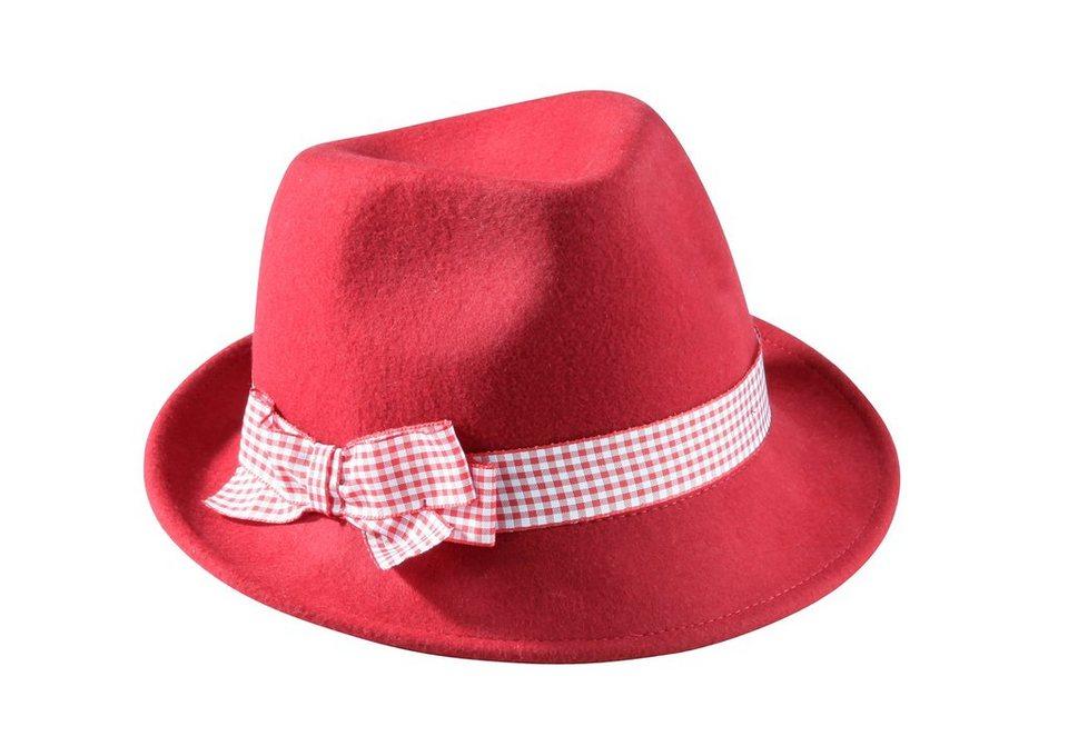 Trachtenhut, Klimm in rot