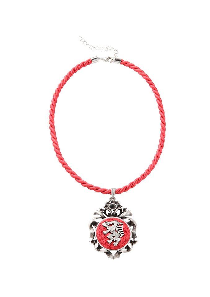 Trachtenkette, K&K Kunstduo in rot