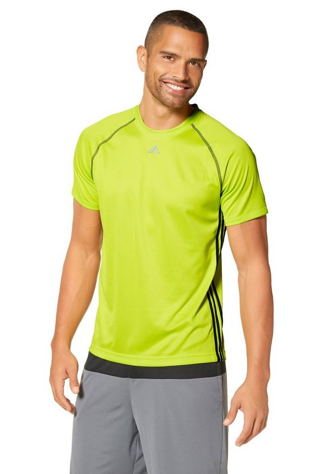 adidas Performance Funktions-T-Shirt in Neongrün