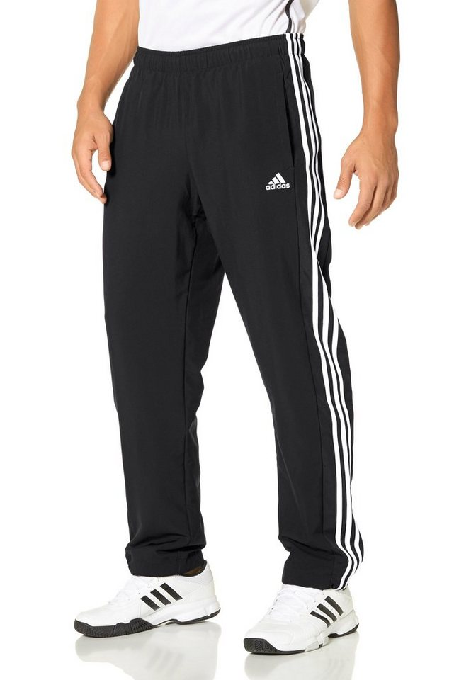 adidas Performance ESSENTIALS 3S PANT WOVEN Funktions-Sporthose in Schwarz-Weiß