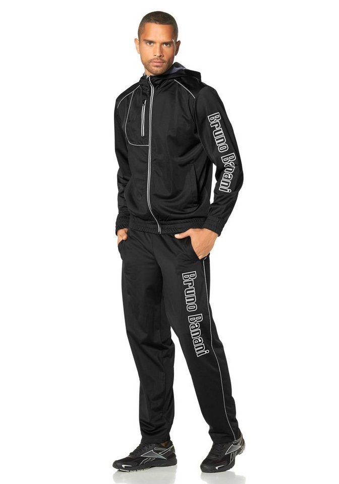 Bruno Banani Trainingsanzug in schwarz
