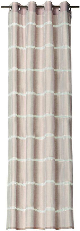 Vorhang, Schöner Wohnen, »Gap«, mit Ösen (1 Stück) in kitt