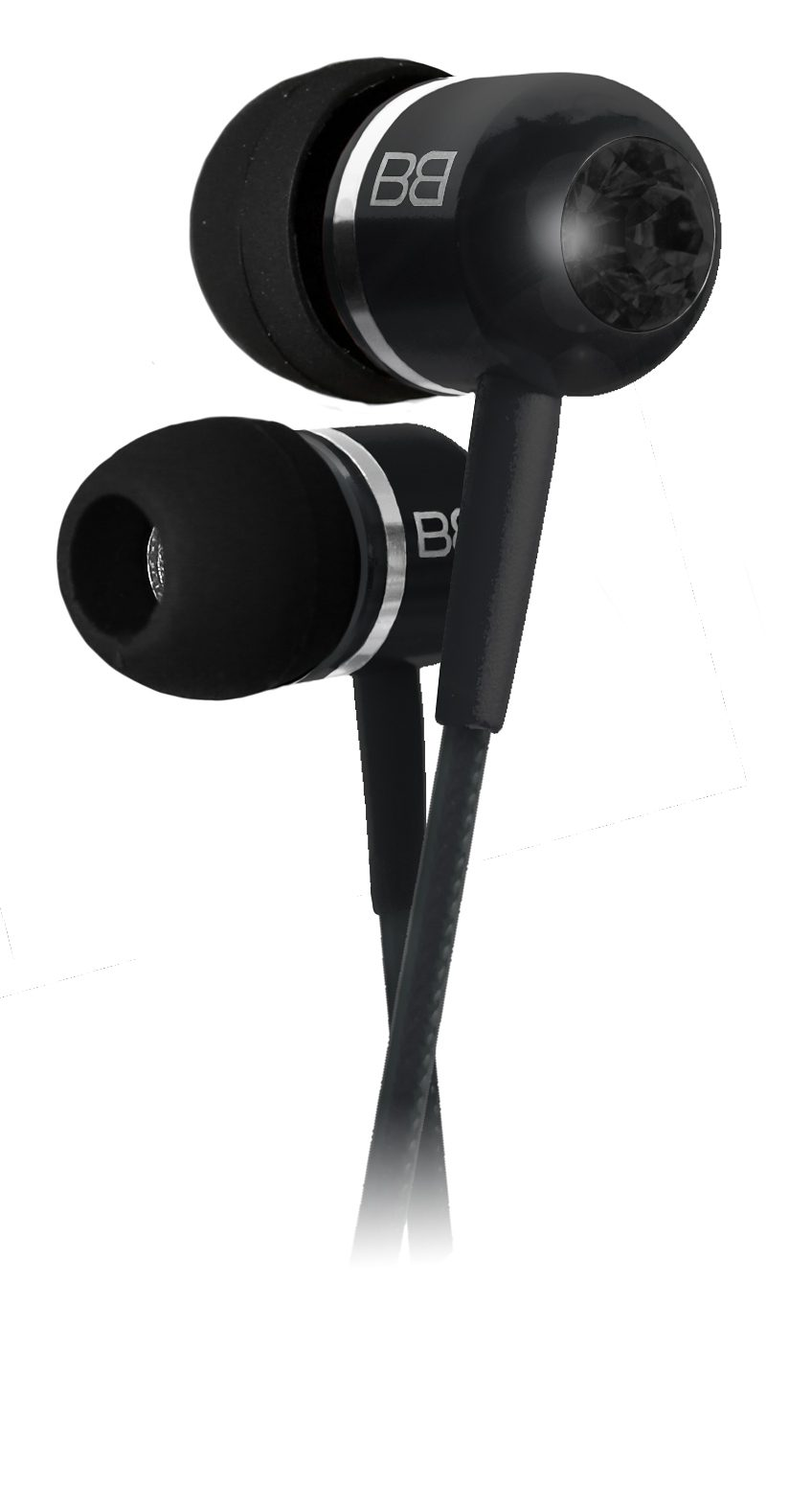 BassBuds In Ear Kopfhörer »Fashion Collection Midnight«