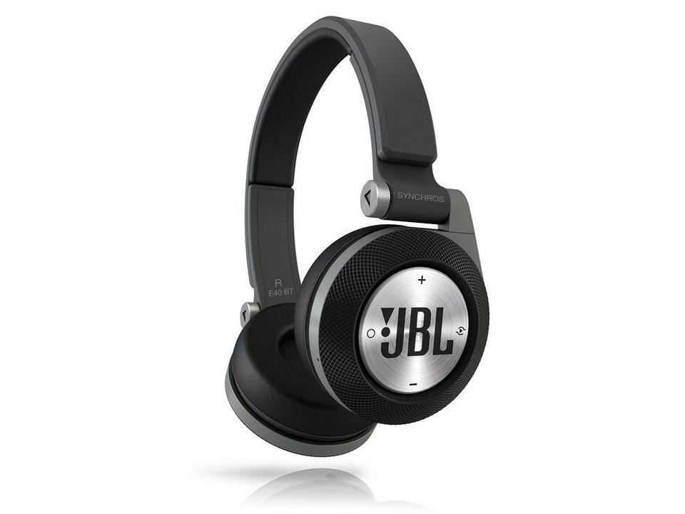 JBL On Ear Bluetooth Kopfhörer »E40BT Schwarz«