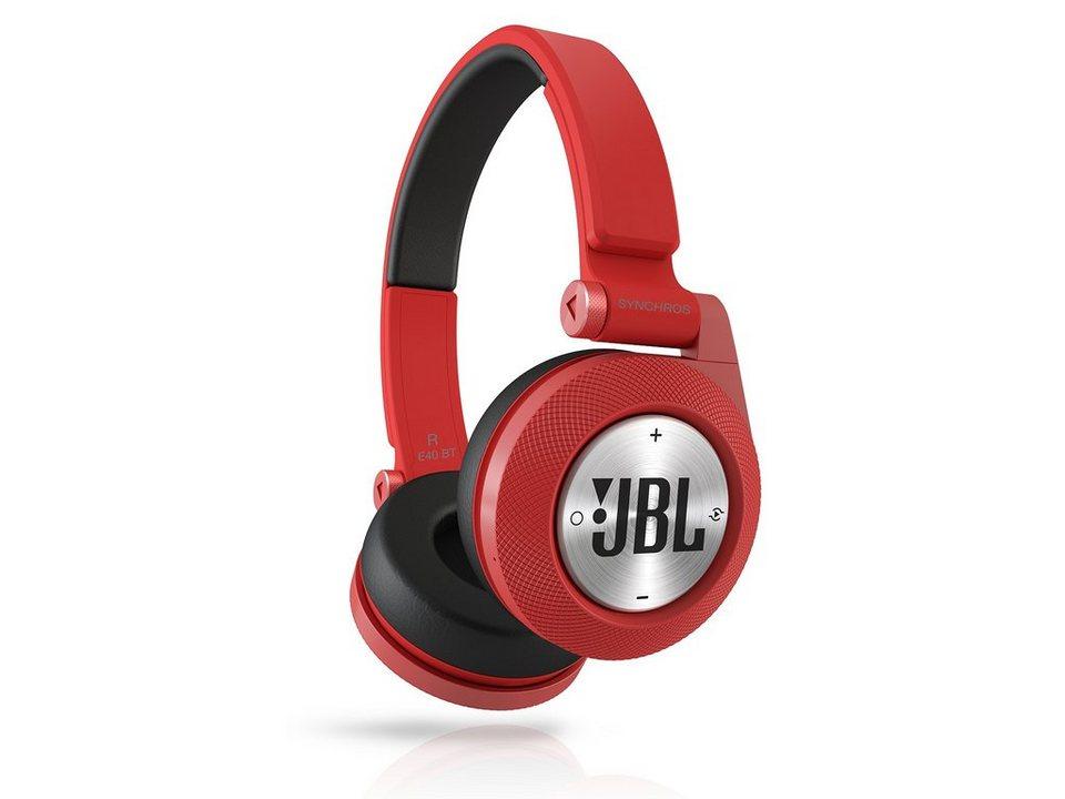 JBL On Ear Bluetooth Kopfhörer »E40BT Rot«