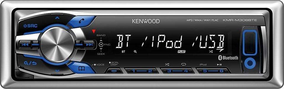 Kenwood 1-DIN Media Receiver & Bluetooth »KMR-M308BTE«
