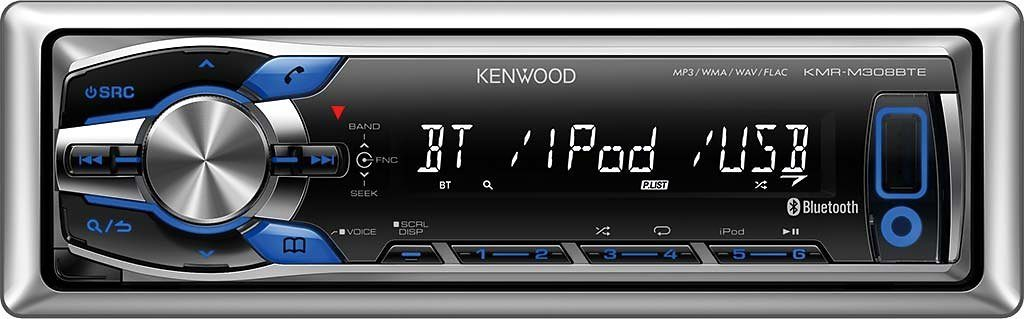 Kenwood 1-DIN Media Receiver & Bluetooth »KMR-M308BTE«