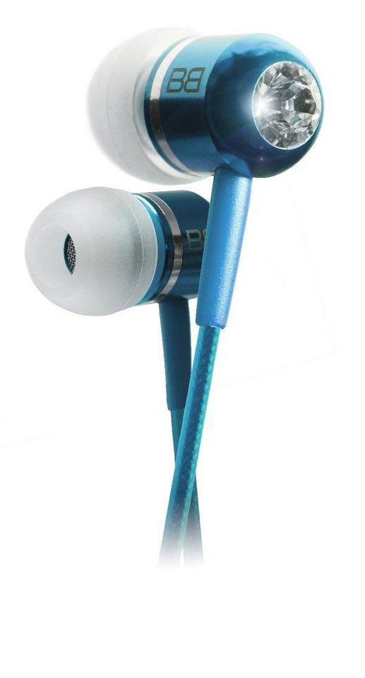 BassBuds In Ear Kopfhörer »Classic Collection, Hellblau«