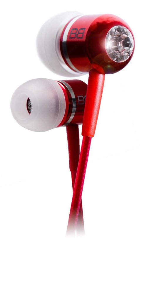 BassBuds In Ear Kopfhörer »Classic Collection, Rot«