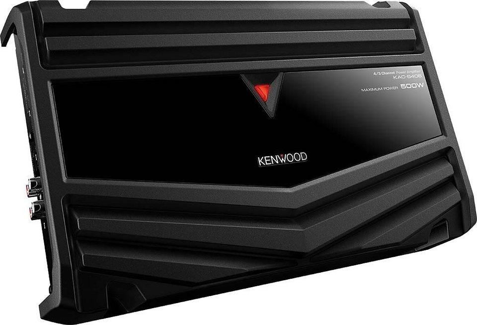 Kenwood 4-/3-Kanal Endstufe »KAC-6406«