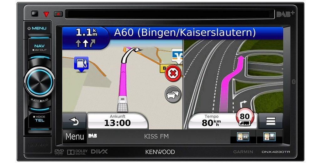 Kenwood 2-DIN Navi für LKW und Wohnmobil »DNX4230TR«