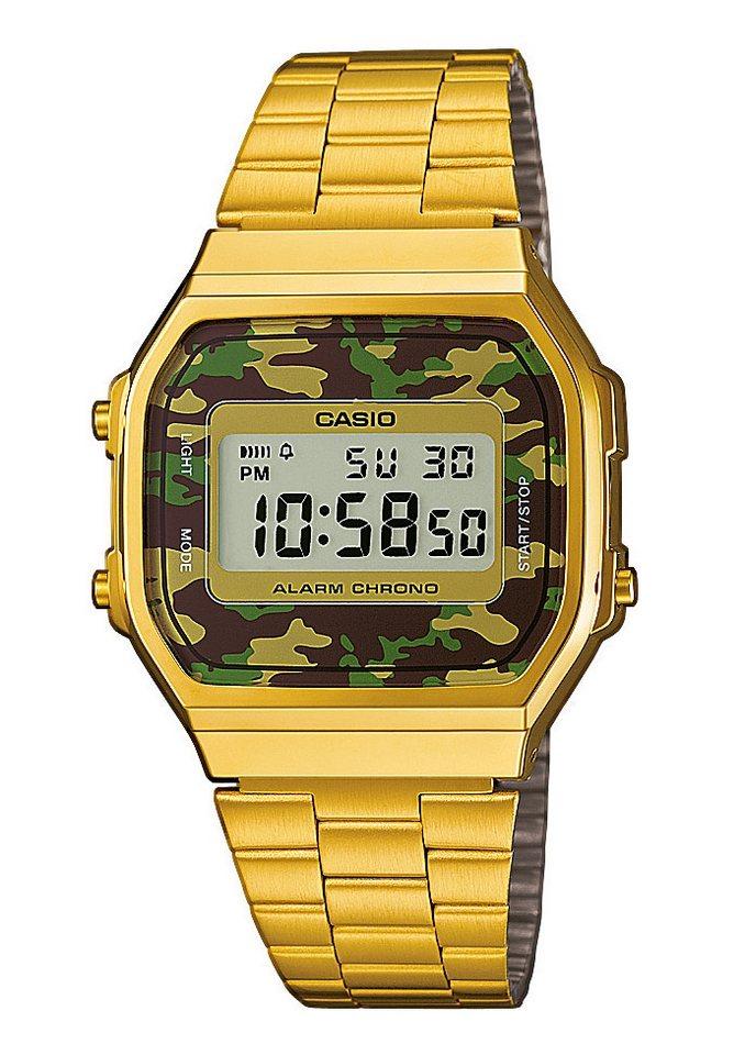 Casio Collection Chronograph »A168WEGC-3EF« in goldfarben