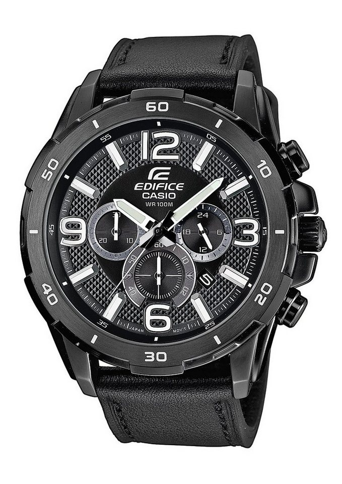 "Casio Edifice, Chronograph, ""EFR-538L-1AVUEF"" in schwarz"