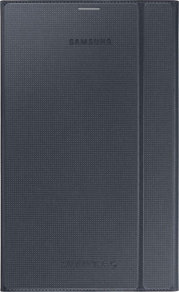 Samsung Tablettasche »Book Cover, Aufstellfunktion, Tab S 8.4, Schwarz« in Schwarz