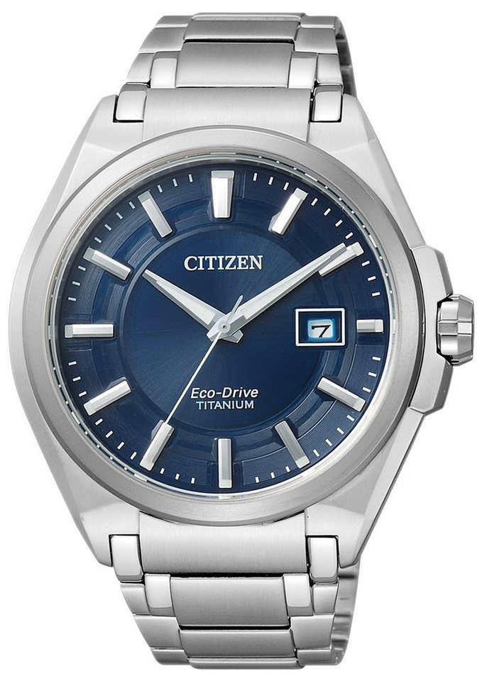 Citizen Solaruhr »BM6930-57M« in silberfarben
