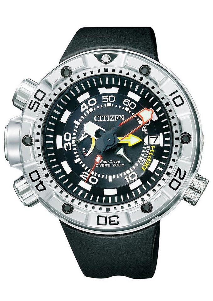 Citizen Solaruhr »BN2021-03E« in schwarz