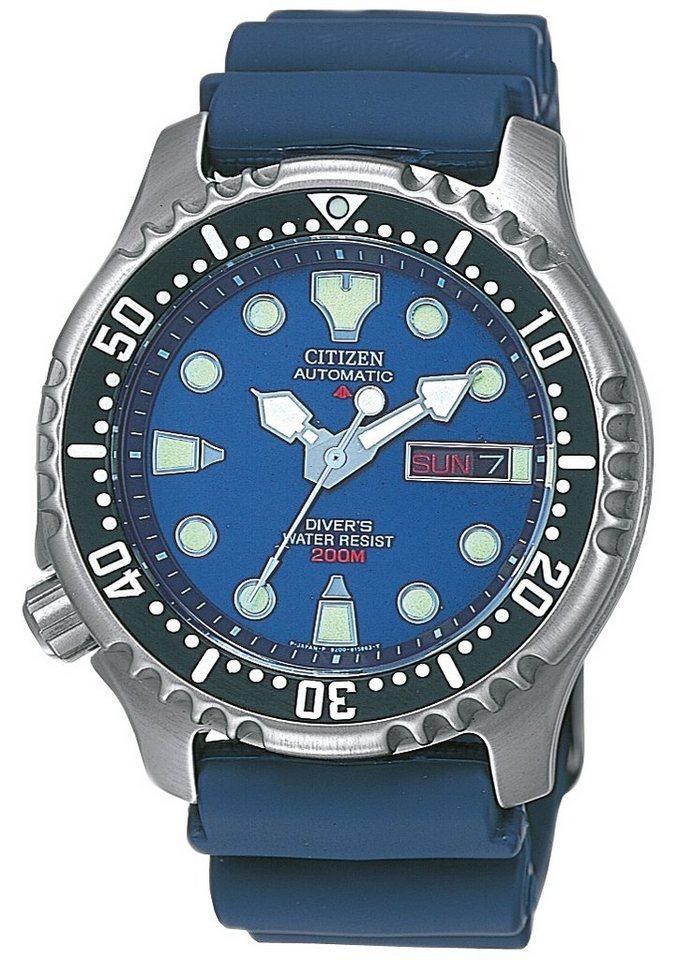 "Citizen, Automatikuhr, ""NY0040-17LE"" in blau"